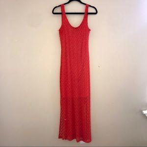 Coral APT 9 Maxi Dress, size XS